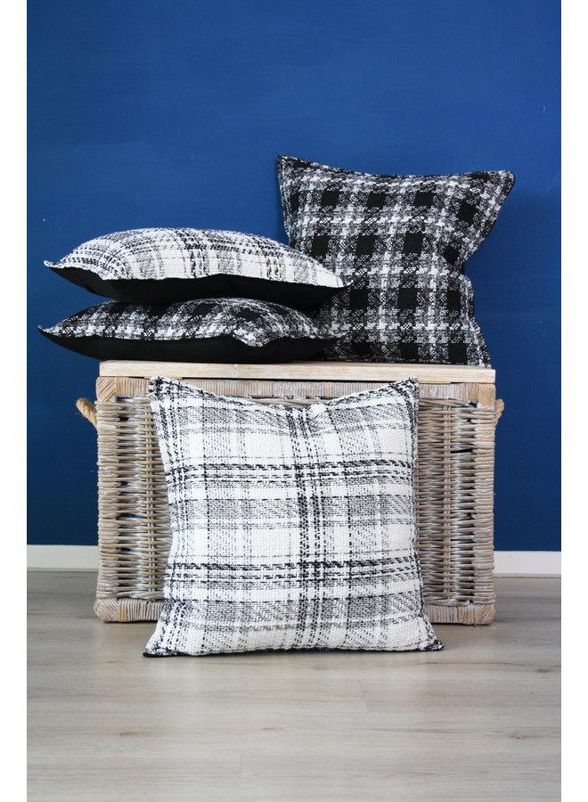 Throw Pillow 40x60  cm  -Bouclé - Lancelot - Black