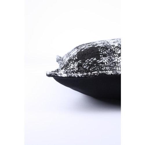 Sierkussen 40x60 cm - Bouclé - Lancelot - Zwart