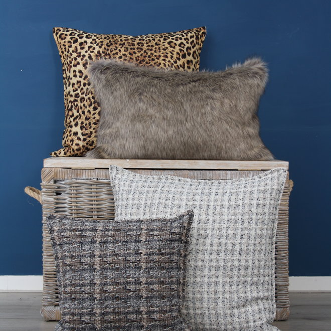 Throw Pillow 45x45 cm  - bouclé - George