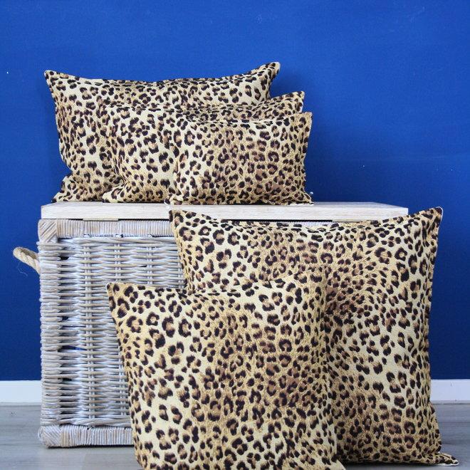 Throw Pillow 40x60cm  - jacquard - Leopard