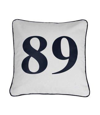Throw Pillow 45x45 cm -Maritime - Indigo Signature - 89