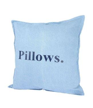 Throw Pillow 45x45 cm  - Denim Pillows.