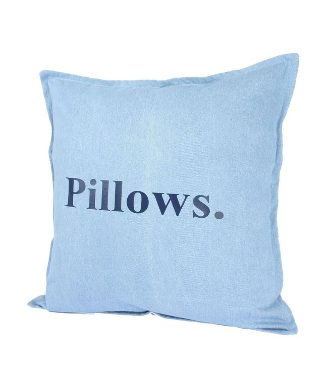 Throw Pillow 45x45 cm  - Denim Pillows.