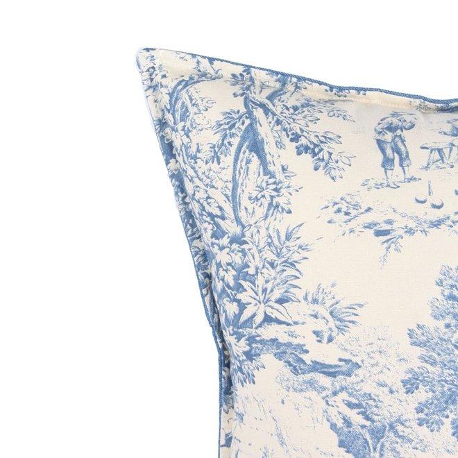 Throw Pillow  60x60 cm  Toile du jour - Denim