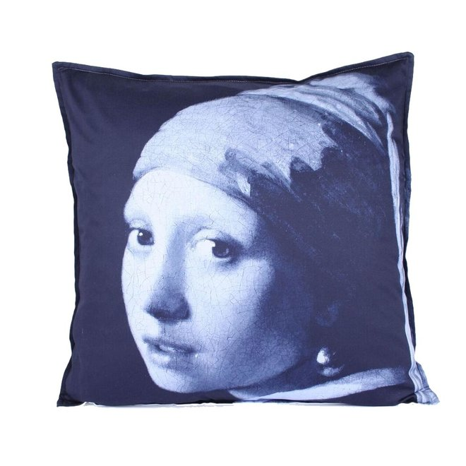 Throw Pillow 60x60 cm  - Girl with the pearl
