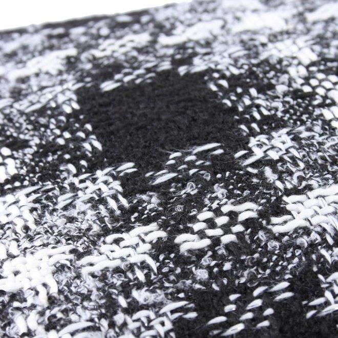 Sierkussen 60x60 cm - Bouclé - Lancelot - zwart