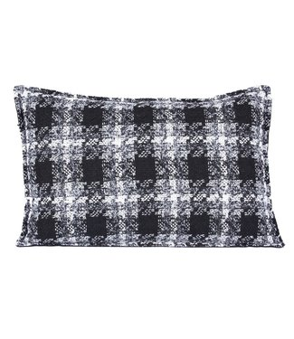 Throw Pillow 40x60  cm  -Bouclé - Lancelot - Black