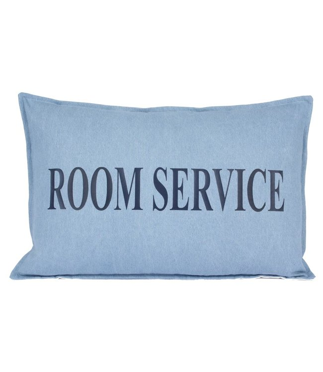 Throw Pillow 40x60  cm  - Denim  - Room service