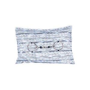 Throw Pillow 30x50  cm  - Bouclé Horse bit - Hope Zilver