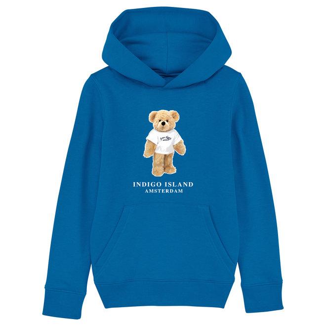 KIDS  Premium Hoodie - Signature Teddy met TEE - Azure
