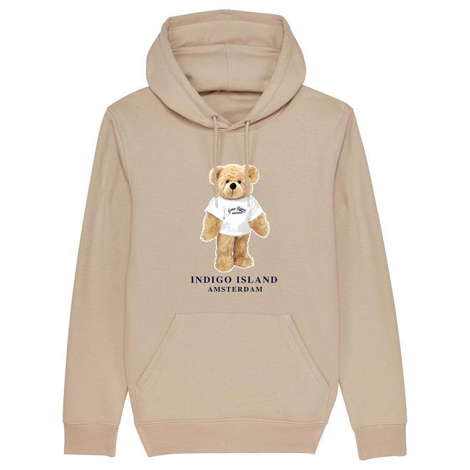 Premium Hoodie - Signature Teddy met TEE- Desert dust