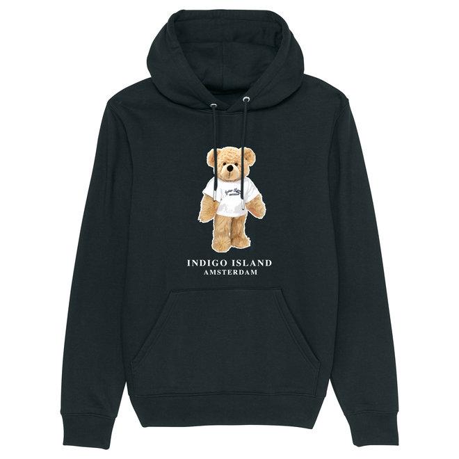 Premium Hoodie - Signature Teddy met TEE- black