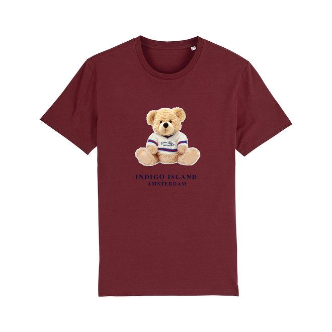 T-shirt - Signature Teddy - Bordeaux