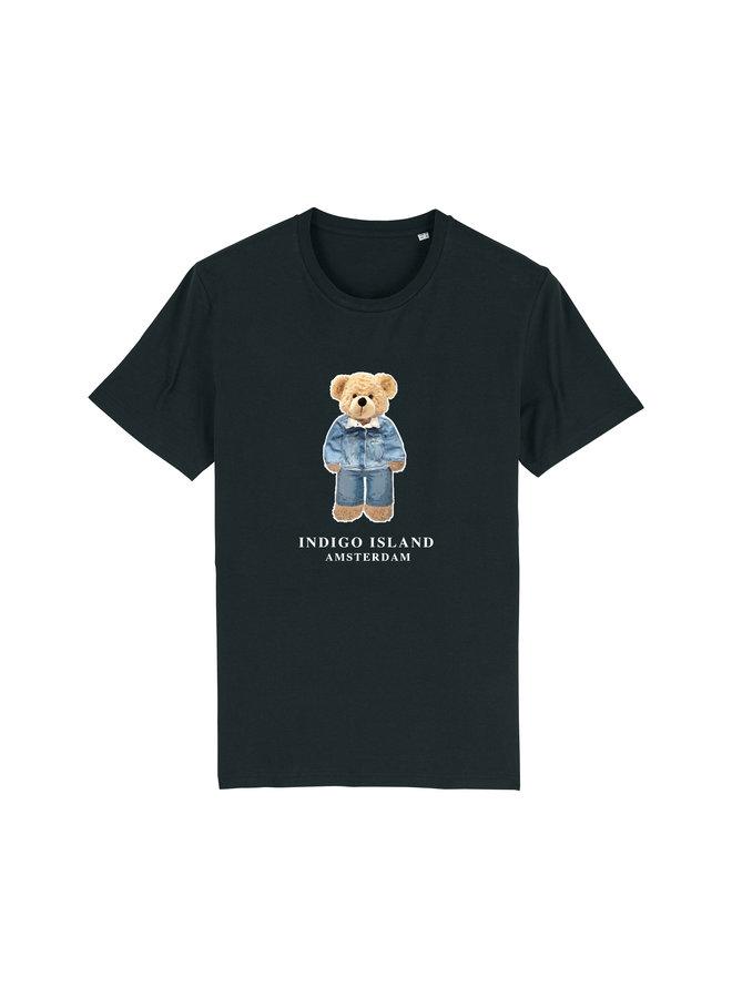 T-shirt - Signature Teddy Denim - Black