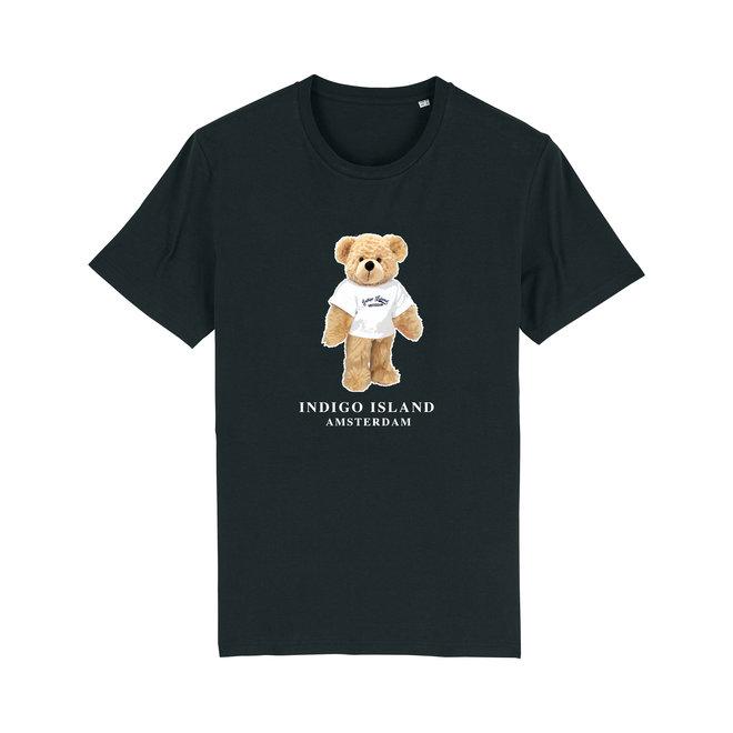 T-shirt - Signature Teddy met TEE - Black