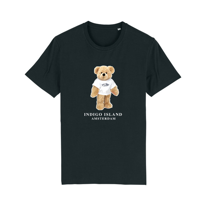 T-shirt - Signature Teddy with TEE -Black