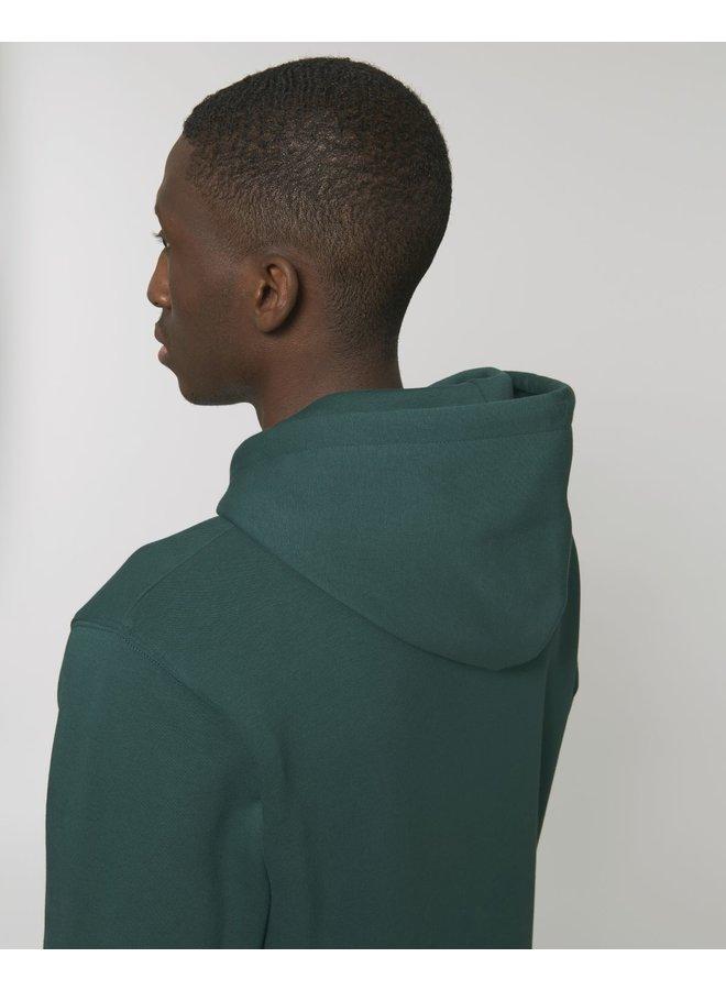 Premium Hoodie -  Signature Teddy Denim - Green