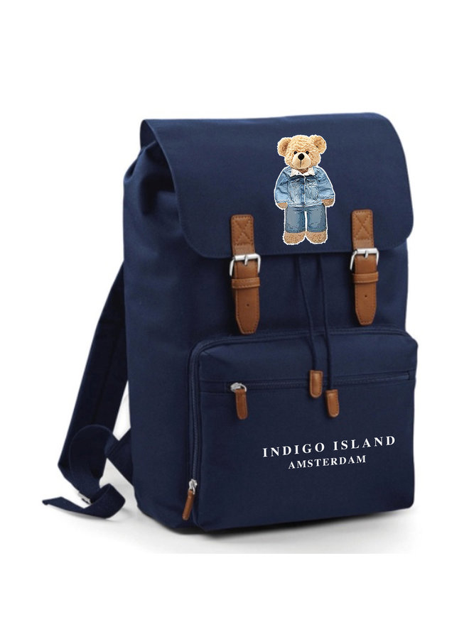 The Signature Teddy backpack - Navy