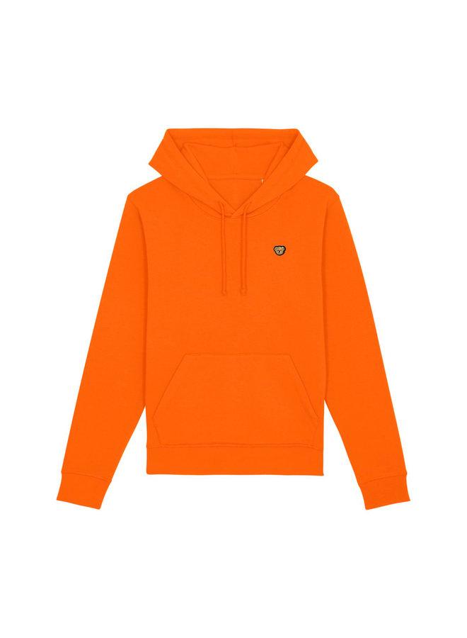 ESSENTIAL Hoodie - Signature Teddybear embroidery - Orange