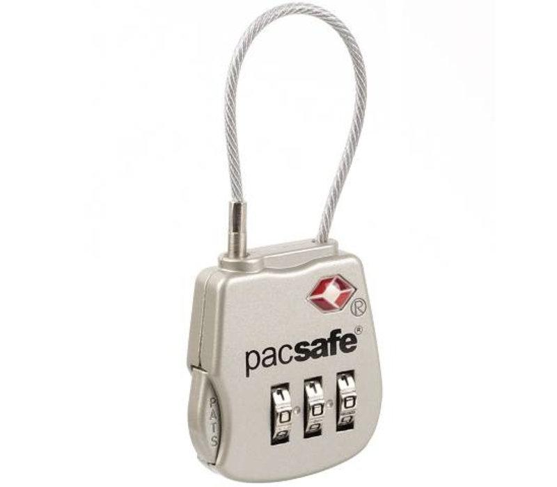 Pacsafe Prosafe 800 TSA Accepted 3-dial Combination Lock