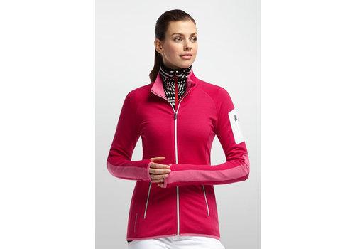 Icebreaker Atom Long Sleeve Zip - Women's
