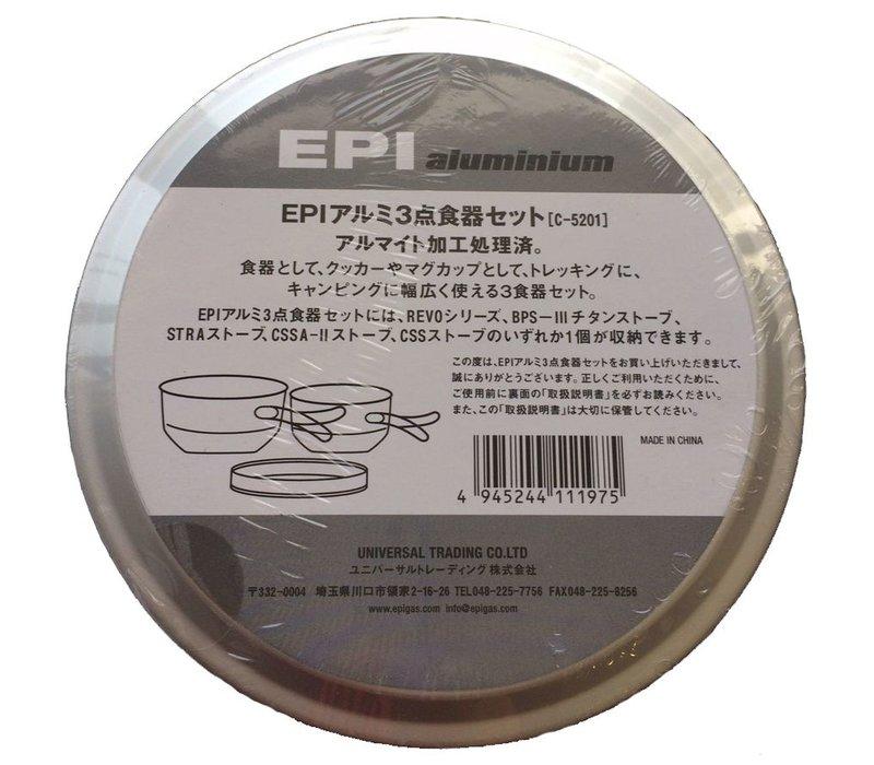 EPI Aluminum 3 Cookset