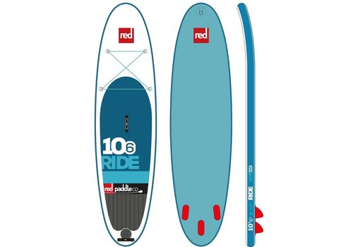 "Red Paddle Co Red Paddle Co 10'6"" Ride Inflatable SUP Board Package (2017)"