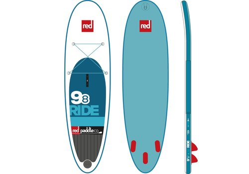 "Red Paddle Co Red Paddle Co 9'8"" Ride Inflatable SUP Board (2017)"