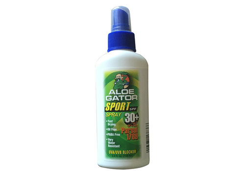 Aloe Gator Aloe Gator SPF 30+ Sport Quick Dry Spray