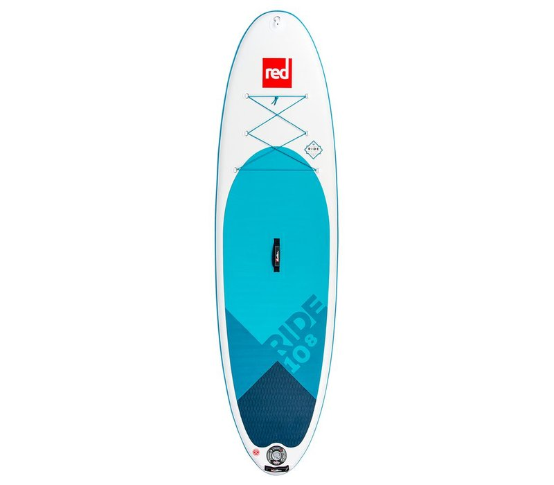 "Red Paddle Co 10'8"" Ride MSL Inflatable SUP Board (2018/19)"