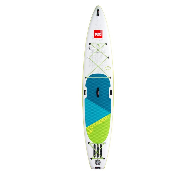 """Red Paddle Co 13'2"""" Voyager+ MSL Inflatable SUP Board (2018/19)"""