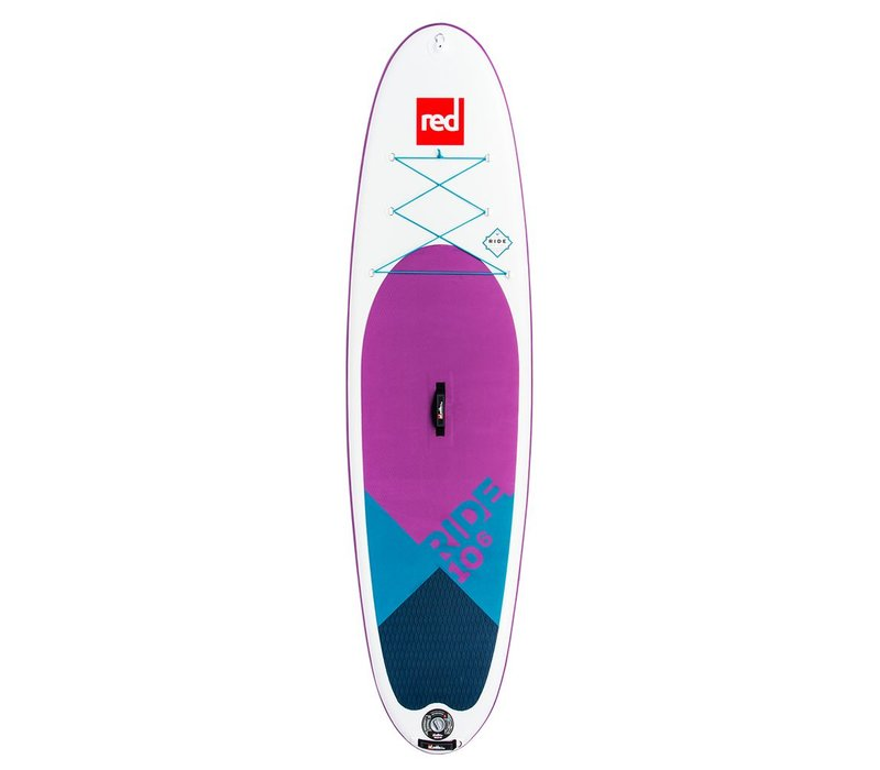 """Red Paddle Co 10'6"""" Ride SE MSL Inflatable SUP Board Package - 10th Anniversary Limited Edition"""