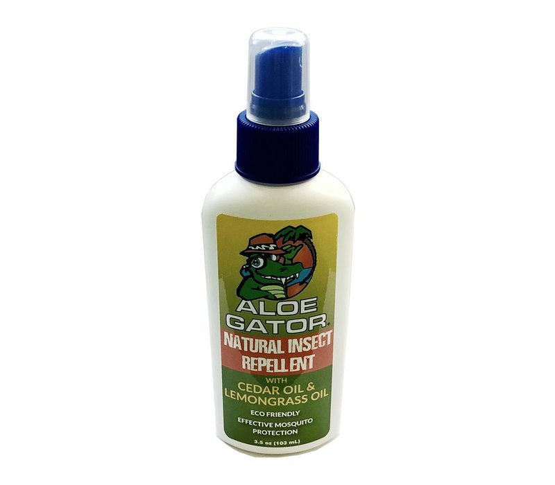 Aloe Gator Natural Insect Repellent Pump Spray