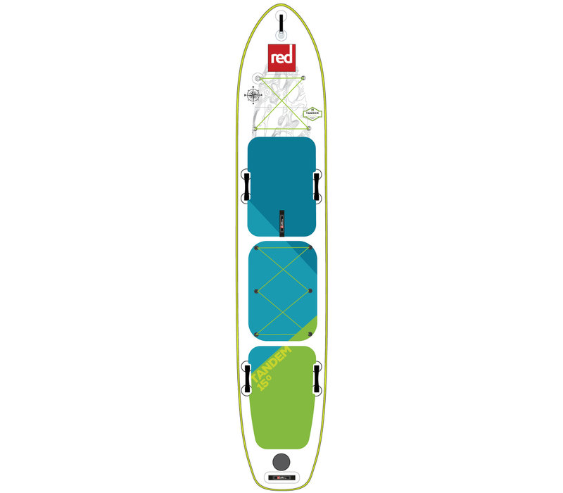 "Red Paddle Co 15'0"" Voyager Tandem MSL Inflatable SUP Board"