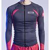 Ozzie Ozzie UV50+ Long Sleeves Zip Rashguard - Men's