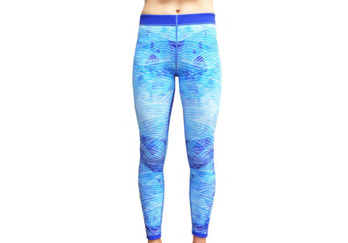 Azur Azur Waves Surf Tights Leggings