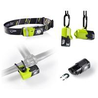 Princeton Tec Snap 200 Lumens Multi-Use IPX4 Water Resistant Headlamp Kit
