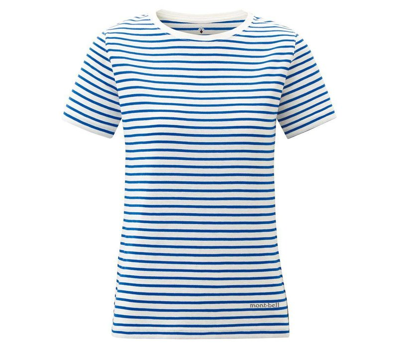 Montbell Wickron Strip Short Sleeves Tee - Women's