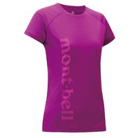Montbell Cool Print Short Sleeves Tee - Women's