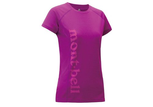 Montbell Montbell Cool Print Short Sleeves Tee - Women's