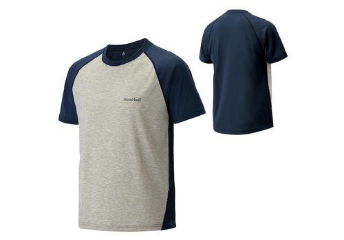 Montbell Montbell Wickron Raglan Short Sleeves Tee - Men's