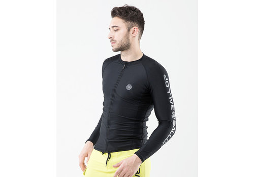Ballop Ballop UPF50+ Long Sleeves Zip Rashguard - Men's