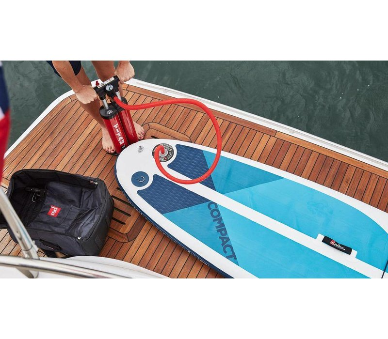"Red Paddle Co 9'6"" Compact Inflatable SUP Board (2019)"