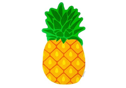 Sunnylife Sunnylife Pineapple Shaped Towel