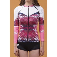 Cielle Marin Zip Long Sleeves UPF50+ Rashguard - Girls