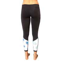 Azur Peacock Thermal Tights
