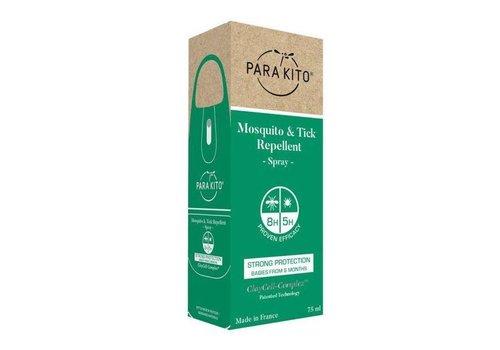 Parakito Para'Kito™ Mosquito & Tick Repellent Spray - Strong Protection, 75ml