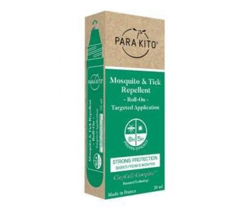 Para'Kito™ Mosquito & Tick Repellent Roll On - Strong Protection