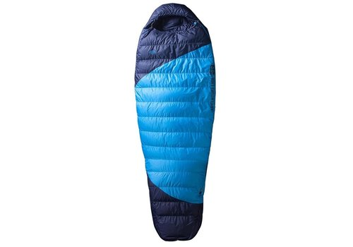 Re:echo Re:echo Adventure Light 0℃ Down Sleeping Bag - Youth, Blue