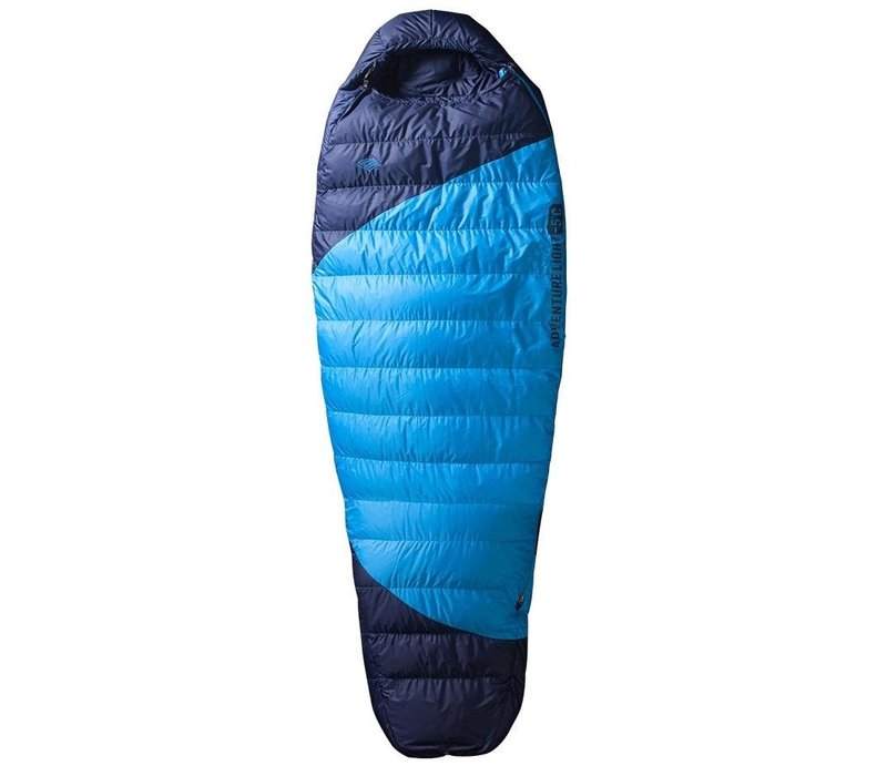 Re:echo Adventure Light 0℃ Down Sleeping Bag - Youth, Blue